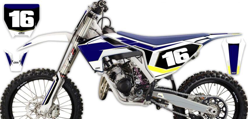 DeCal Works: Semi Custom Complete Dirt Bike Graphics Kits