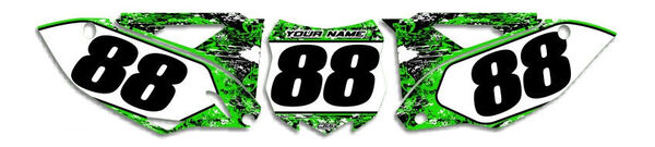 Image Preview of T-5 Series Number Plate Graphics Kit with Airbox