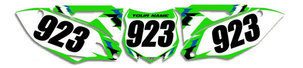 Image Preview of T-6 Series Number Plate Graphics Kit with Airbox