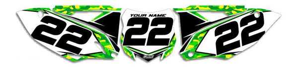 Image Preview of Traditional Camo Series Number Plate Graphics Kit with Airbox