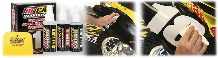 MX Graphics Dirt Bike Decals Application Kit