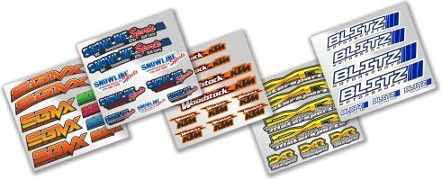 MX Graphics Dirt Bike Dealer Decals