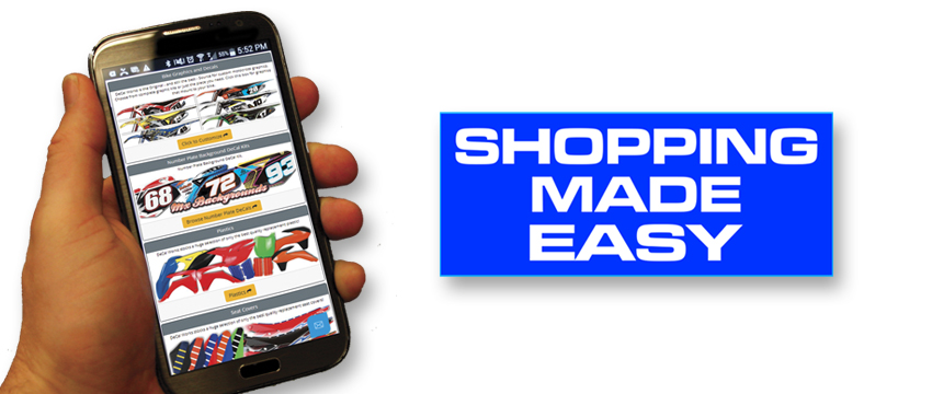 Let DeCal Works handle all your shopping needs.