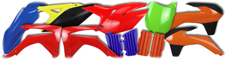 MX Dirt Bike Replacement Plastic and Accessories