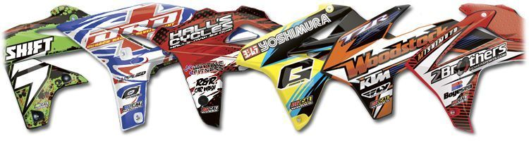 Mx graphics dirt bike rad cover decals