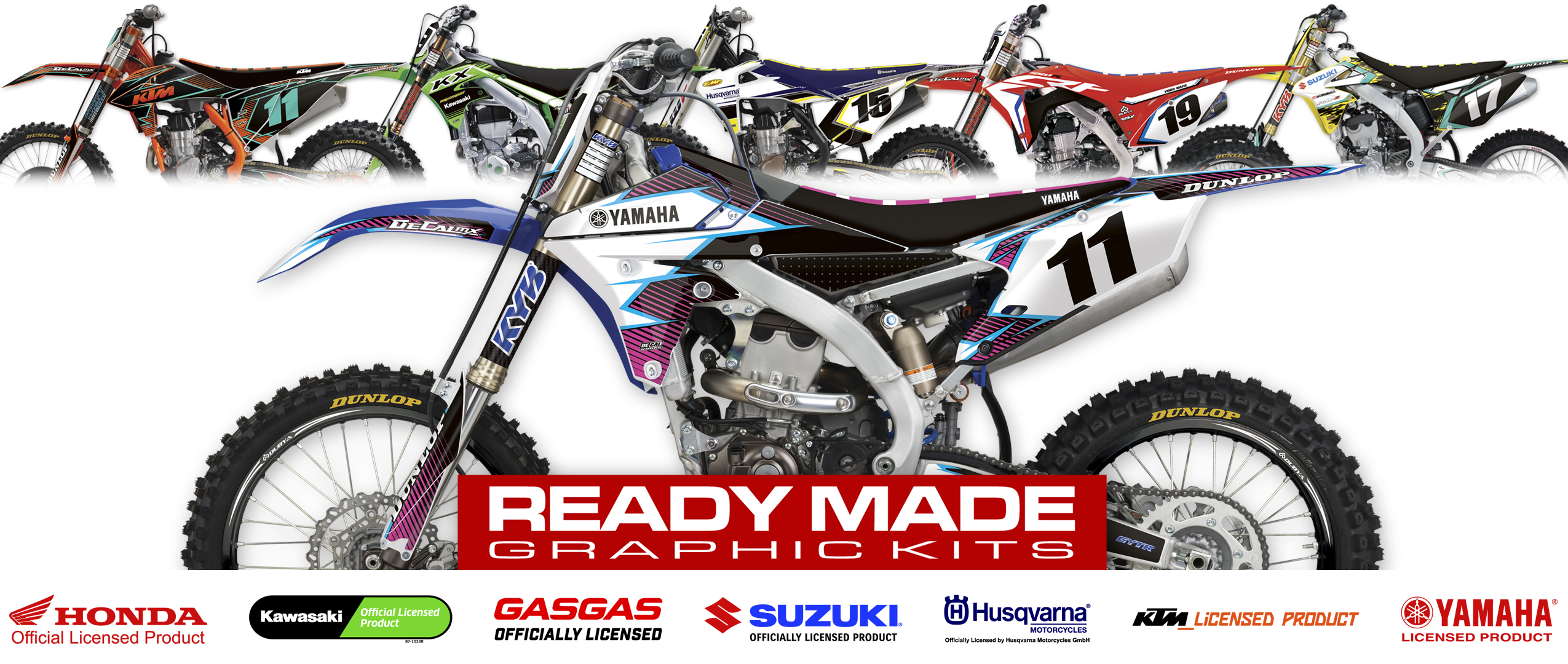 DeCal Works Custom MX Bike Graphics - Vinyl stickers for bikes