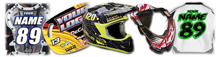 Mx graphics dirt bike decals rider id