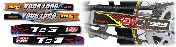 MX Graphics Dirt Bike Swingarm Decals