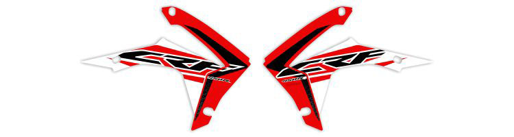 MX Graphics Dirt Bike Decals Honda OEM Replica Series Rad Graphics