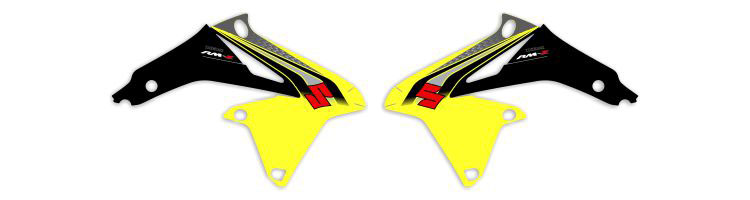 MX Graphics Dirt Bike Decals Suzuki OEM Replica Series Rad Graphics