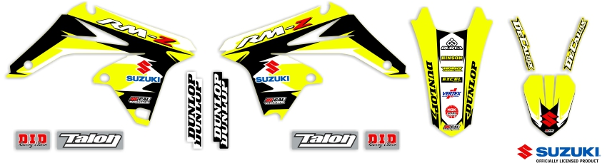 MX Graphics Dirt Bike Decals Suzuki Garage Sale Series Full Graphics