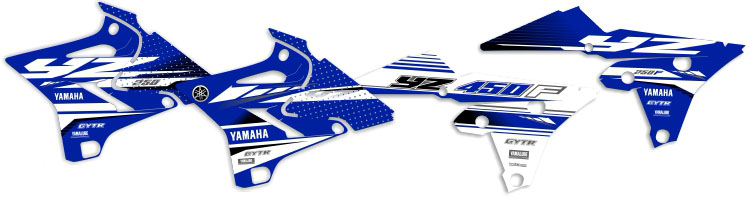 MX Graphics Dirt Bike Decals Yamaha OEM Replica Series Rad Graphics