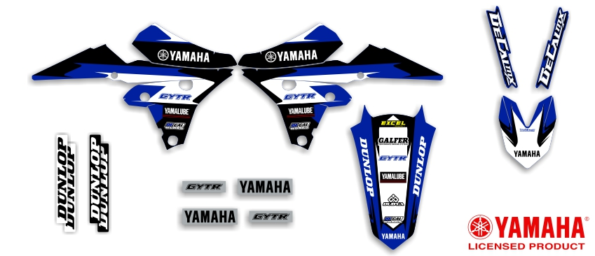 MX Graphics Dirt Bike Decals Yamaha Garage Sale Series Full Graphics