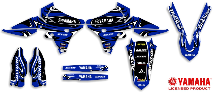 DeCal Works Ready Made Full Dirt Bike Graphics Kits - Decal graphics for dirt bikes