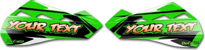 MX Graphics Dirt Bike T-4 Hand Guard Decals