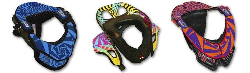 Motocross Neck Brace DeCal Kit Havok Series