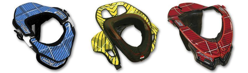 Motocross Neck Brace DeCal Kit Plaid Series