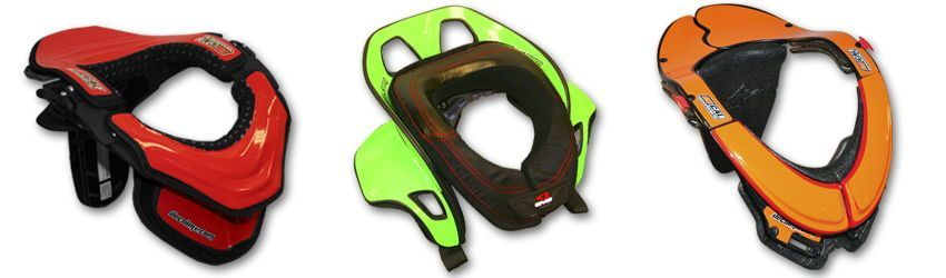 Motocross Neck Brace DeCal Kit Solids Series