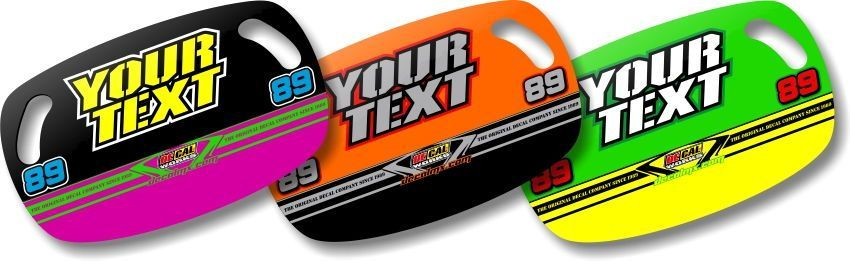 Dirt Bike Motocross MX Custom Pit Board T-4 Series