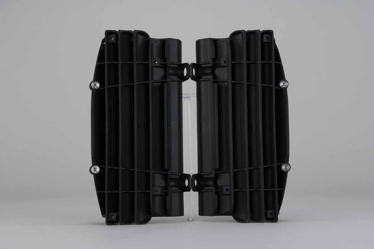 Black Radiator Louvers {{bikestring}}