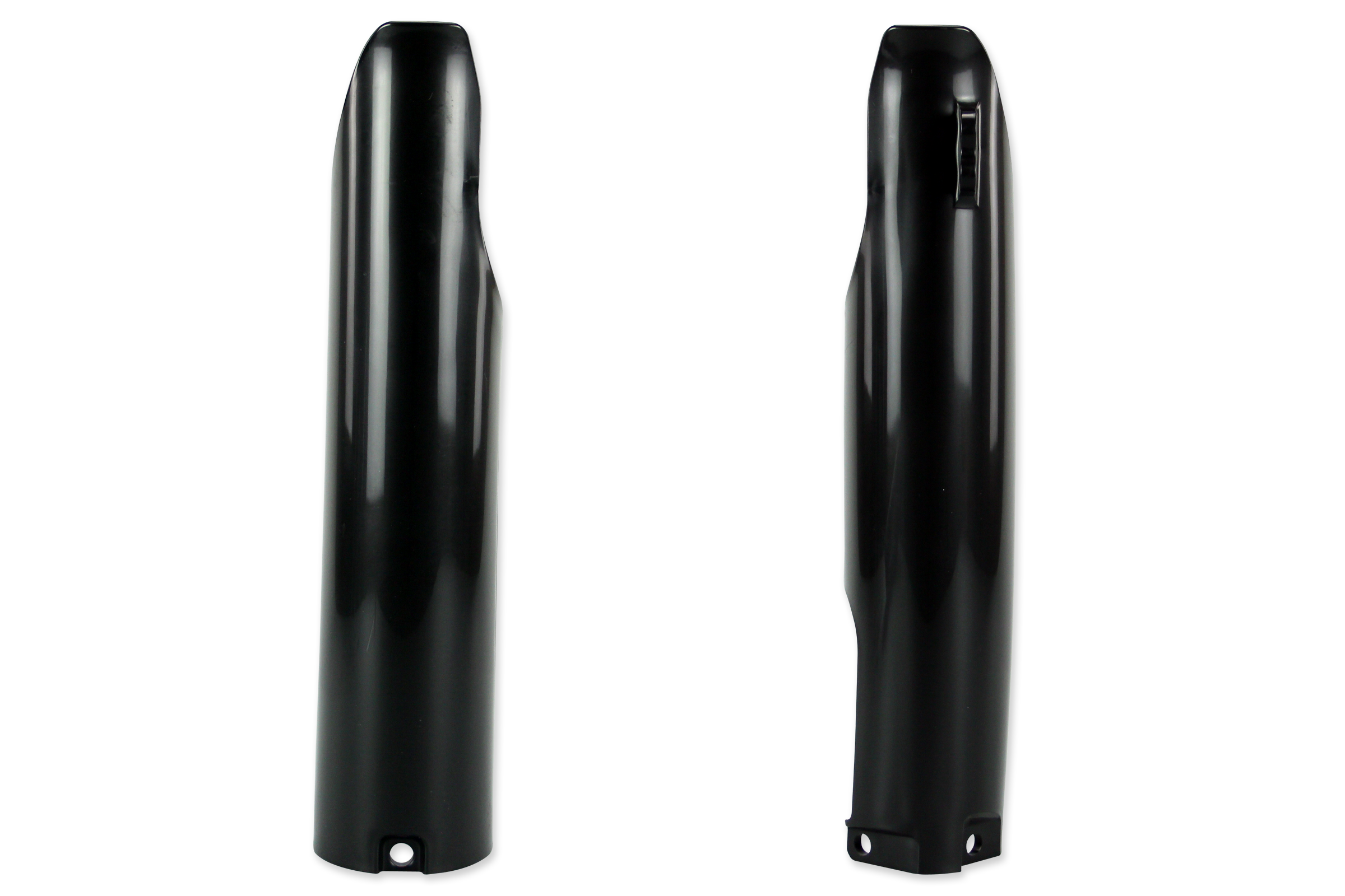 Black Lower Fork Guards for Yamaha