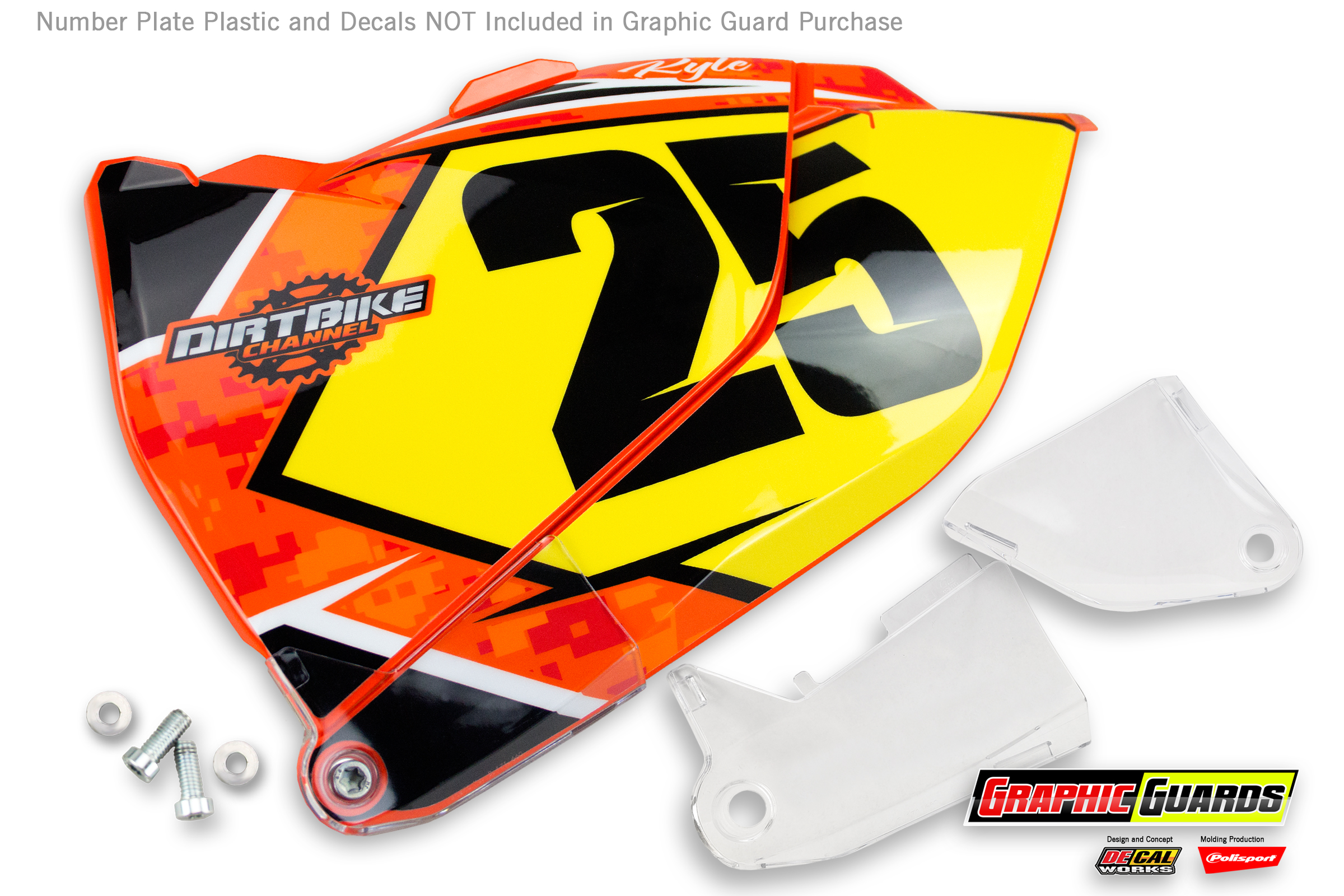 New Poulan Gold 500ex Decal Yellow Decal