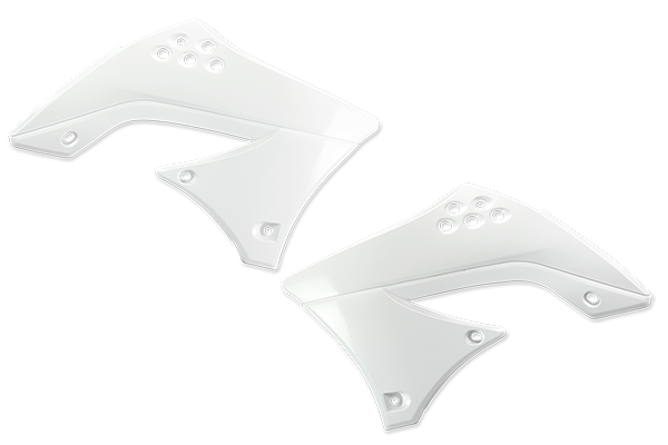 White Plastic Kit Level 2 Kawasaki: KX450F (2009-11)