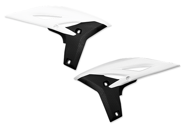 White / Black Plastic Kit Level 3 Yamaha: YZ250F (2010-13)