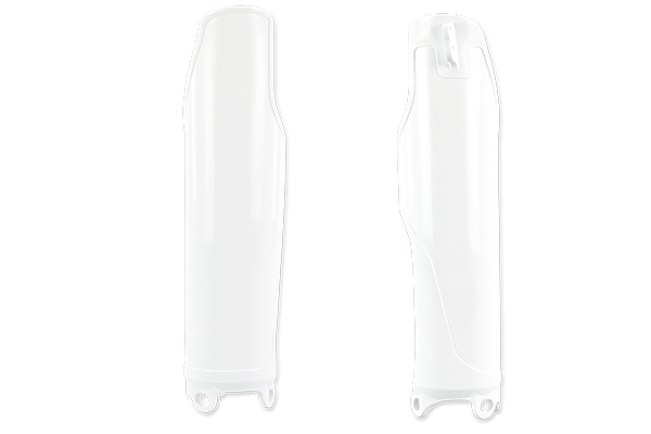 White Lower Fork Guards {{bikestring}}