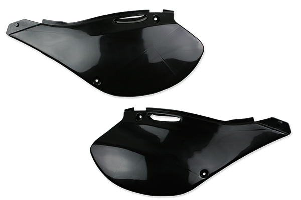 Black Plastic Kit Level 2 Kawasaki: KX125 (2 Stroke) (1999-02) / KX250 (2 Stroke) (1999-02)