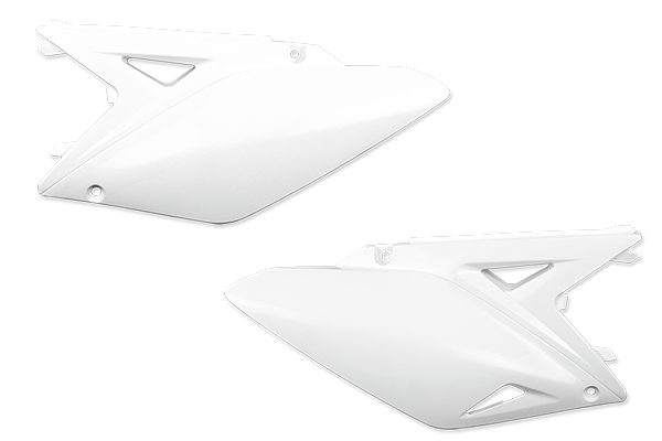 White Plastic Kit Level 5 Suzuki: RMZ250 (2010-18)