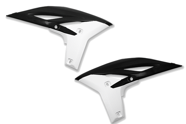 Black / White Plastic Kit Level 3 Yamaha: YZ250F (2010-13)