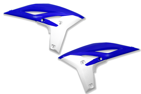 Blue / White Plastic Kit Level 3 Yamaha: YZ250F (2010-13)