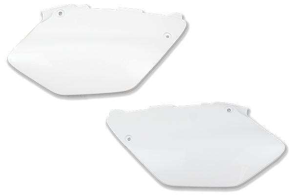White Plastic Kit Level 3 Yamaha: YZ125 (2 Stroke) [Stock Shape Plastic] (2011-14) / YZ250 (2 Stroke) [Stock Shape Plastic] (2011-14)