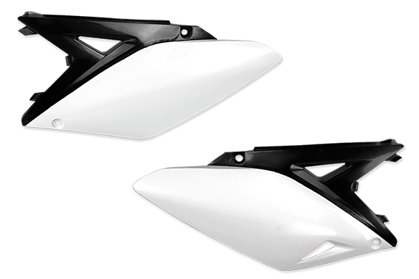 White / Black Plastic Kit Level 5 Suzuki: RMZ250 (2010-18)
