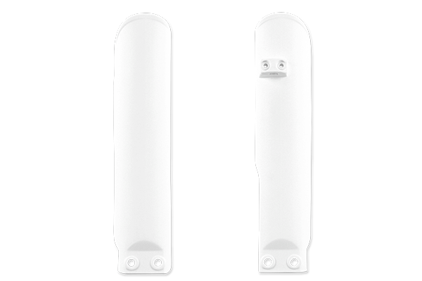 White Complete Plastic Kit With Lower Forks KTM: SX105 (2 Stroke) (2006-11) / SX85 (2 Stroke) (2006-11) / XC105 (2 Stroke) (2008-09) / XC85 (2 Stroke) (2008-09)
