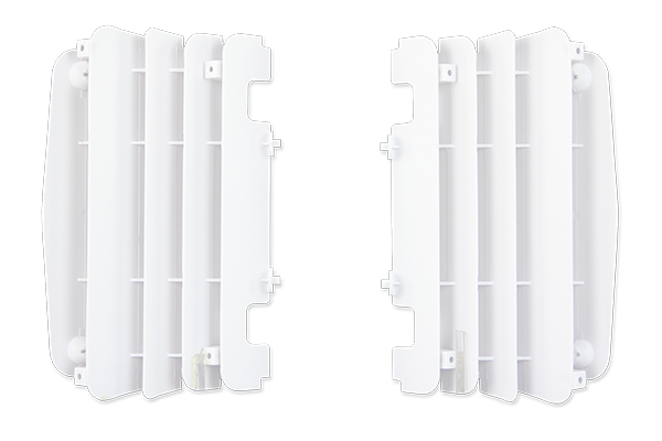 White Radiator Louvers {{bikestring}}