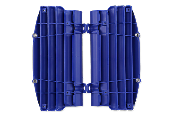 Blue Radiator Louvers {{bikestring}}