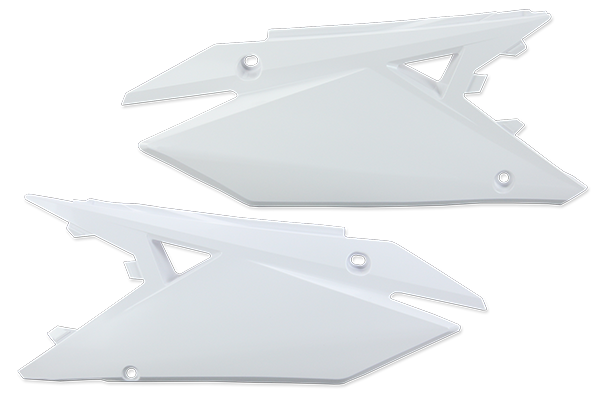 White Plastic Kit Level 5 Suzuki: RMZ250 (2019-20) / RMZ450 (2018-20)