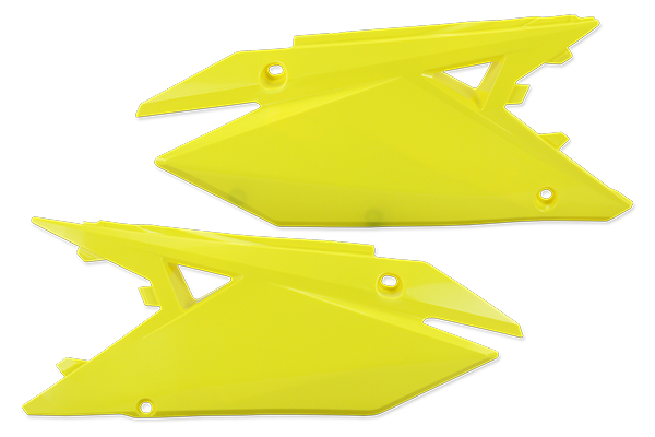 Yellow Plastic Kit Level 5 Suzuki: RMZ250 (2019-20) / RMZ450 (2018-20)