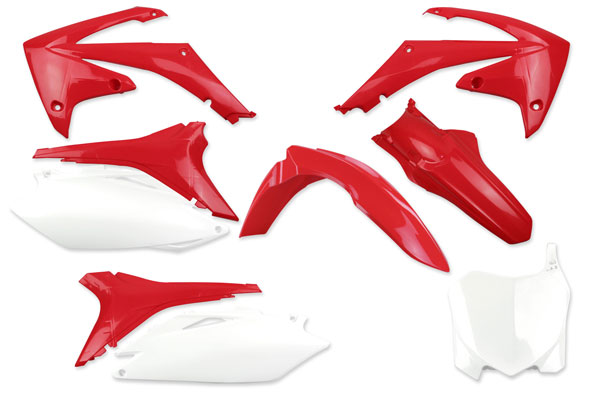 Complete Plastic Kit for Honda: CRF250R (2011-13) / CRF450R (2011-12) | DeCal Works