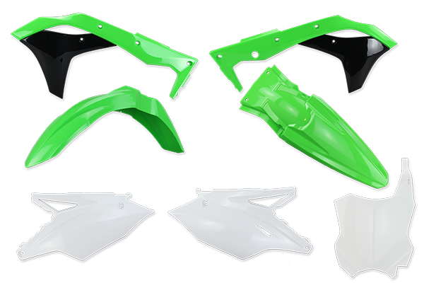 Complete Plastic Kit for Kawasaki: KX250F (2017-20) | DeCal Works