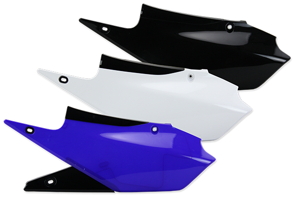 Side Number Plates for Yamaha: YZ250F (2019) / YZ450F (2018-19) / YZ450FX (2019) | DeCal Works
