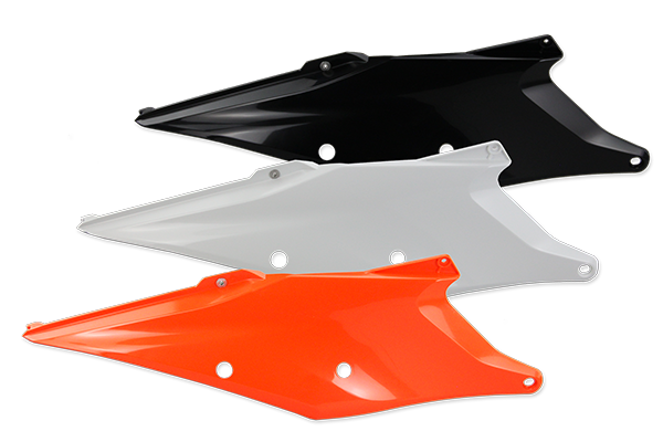 Side Number Plates for KTM: SXF450 (Factory Edition) (2018-19) / SX125 (2 Stroke) (2019-20) / SX150 (2 Stroke) (2019-20) / SX250 (2 Stroke) (2019-20) / SXF250 (2019-20) / SXF350 (2019-20) / SXF450 (2019-20) / XC250 (2 Stroke) (2019) / XC300 (2 Stroke) (2019) / XCF250 (2019-20) / XCF350 (2019-20) / XCF450 (2019-20) / XC250 TPI (2 Stroke) (2020) / XC300 TPI (2 Stroke) (2020) / XCW150 (2020) / XCW250 (2020) / XCW300 (2020) | DeCal Works