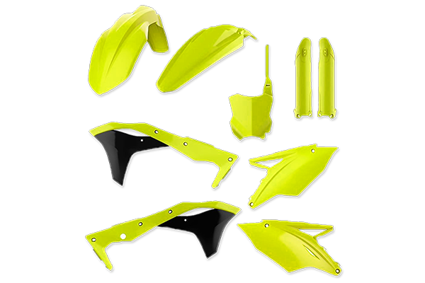 Specialty Color Plastic Kit for Kawasaki: KX250F (2017-20) | DeCal Works