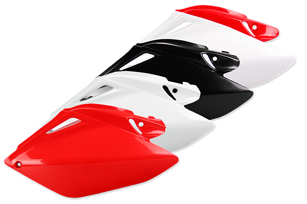 Side Number Plates for Honda: CRF250R (2006-09) | DeCal Works