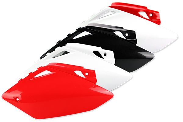 Side Number Plates for Honda: CRF450R (2007-08) | DeCal Works