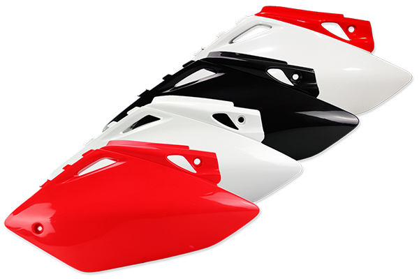 Side Number Plates for Honda: CRF450R (2005-06) | DeCal Works