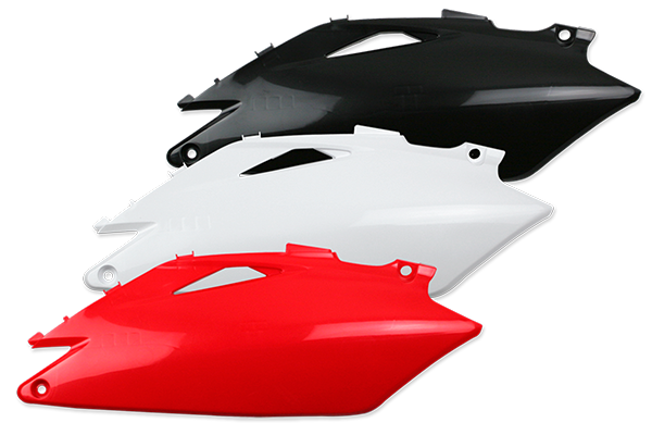 Side Number Plates for Honda: CRF250R (2010) / CRF450R (2010-09) | DeCal Works