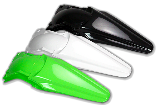 Rear Fender for Kawasaki: KX250F (2013-16) / KX450F (2012-15) | DeCal Works